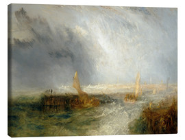 Canvas print  East End - Joseph Mallord William Turner