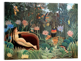 Acrylic glass  The dream - Henri Rousseau