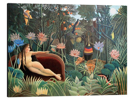 Alu-Dibond  The dream - Henri Rousseau