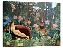 Canvas  The dream - Henri Rousseau