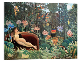 Foam board print  The dream - Henri Rousseau