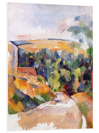 Forex  Bend in the road - Paul Cézanne