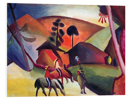 Forex  Indians on horseback - August Macke