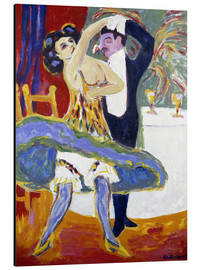Aluminium print  Variety (English dance couple) - Ernst Ludwig Kirchner