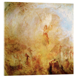 Acrylic print  Angel in front of the sun - Joseph Mallord William Turner