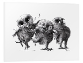 Forex  Three Crazy Owls - Stefan Kahlhammer