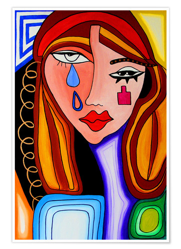 Premium poster Weeping Woman Jenny Grice