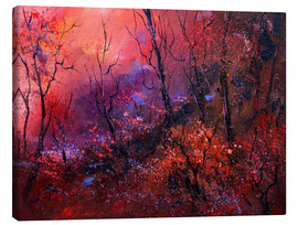 Canvas print  Sunrise in the forest - Pol Ledent