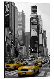 Alu-Dibond  NEW YORK CITY Times Square - Melanie Viola