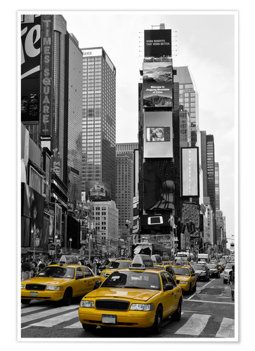 Premium poster NEW YORK CITY Times Square