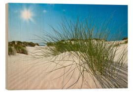 Wood print  Amrum Seascape - Reiner Würz