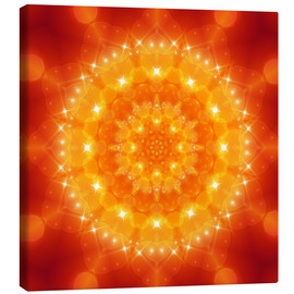 Canvas print  Mandala, I am love - Dolphins DreamDesign