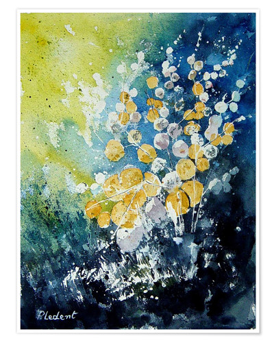 Premium poster Abstract watercolor
