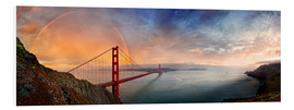 Forex  San Francisco Golden Gate with rainbow - Michael Rucker