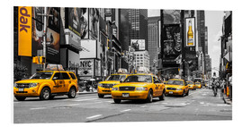 Forex  Yellow cabs in Times Square - Hannes Cmarits