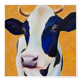 Poster  Cow Angelika - Renate Berghaus