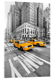 Acrylic print  Yellow Taxi / Cab, New York - Marcus Klepper