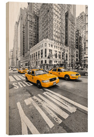 Wood  Yellow Taxi / Cab, New York - Marcus Klepper