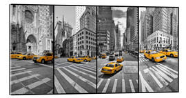 Acrylic glass  New York Cab Collage - Marcus Klepper