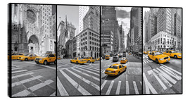 Canvas print  New York Cab Collage - Marcus Klepper
