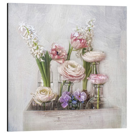 Aluminium print  all about spring - Lizzy Pe