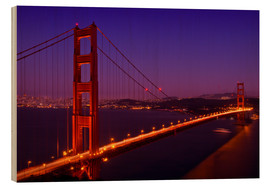 Melanie Viola - Golden Gate Bridge by Night