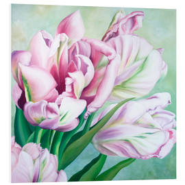 Foam board print  Tulips 2 - Renate Berghaus