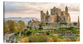 Canvas print  Castle 'Rock of Cashel', Ireland - Olaf Protze