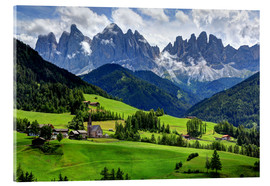 Acrylic print  mountains - Wolfgang Dufner