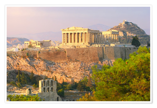Akropolis Athens Greece Posters And Prints