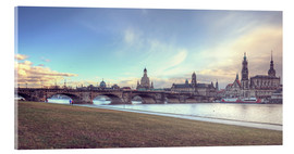 Steffen Gierok - Dresden, as viewed by Canaletto earlier