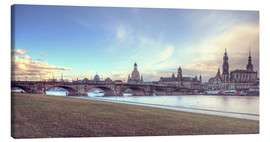 Canvas print  Dresden, as viewed by Canaletto earlier - Steffen Gierok