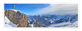 Poster  Zugspitze Summit - Fine Art Images