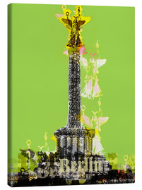 Canvas print  Berlin Victory Column (on Green) - JASMIN!
