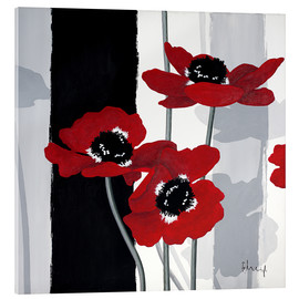 Acrylic glass  Anemones I - Franz Heigl
