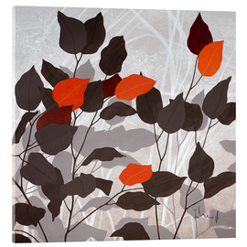 Acrylic print  Autumn leaves III - Franz Heigl