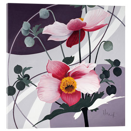 Acrylic print  Swinging blossoms - Franz Heigl