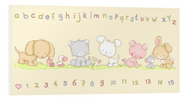 Forex  baby pet animals with alphabet and numbers - Fluffy Feelings