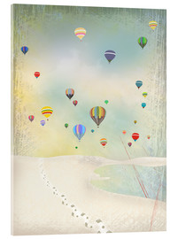 Acrylic glass  Hot air balloon day - Elisandra Sevenstar