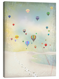Canvas print  Hot air balloon day - Elisandra Sevenstar