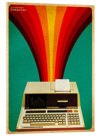 Acrylic print  Grandfather computer - David Siml