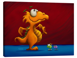 Canvas print  red dragon - Tooshtoosh