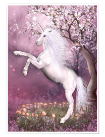 Poster  Unicorn Energy - Dolphins DreamDesign