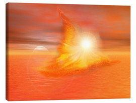 Canvas  The Fire Angel - Dolphins DreamDesign