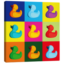 Canvas  pop art duck - coico