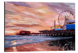 M. Bleichner - Santa Monica Pier at Sunset