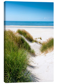Canvas print  North sea dunes - Reiner Würz RWFotoArt