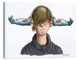 Canvas  You Tube Boy - Marian Kamensky