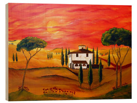 Wood  Warmth of Tuscany - Christine Huwer