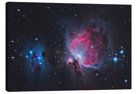 Canvas print  Great Orion Nebula & Running Man - Alexander Voigt